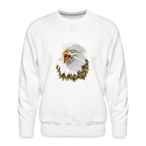 Big, Bold Eagle - Men's Premium Sweatshirt