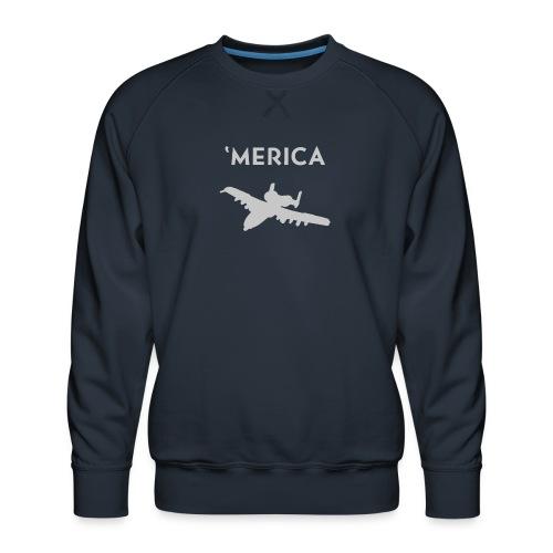 'Merica: A10 Warthog - Men's Premium Sweatshirt