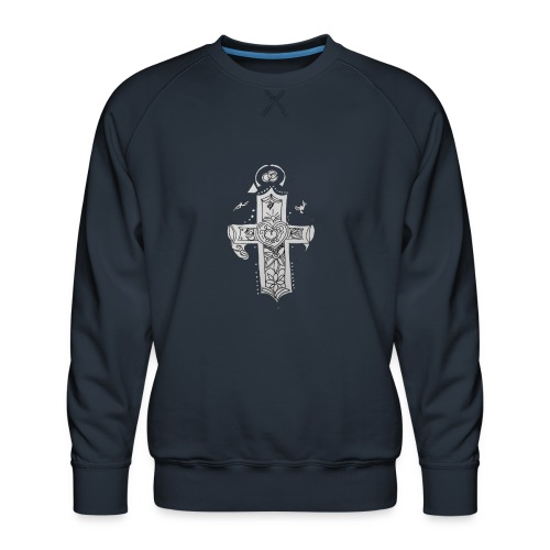 1527011938514cross - Men's Premium Sweatshirt