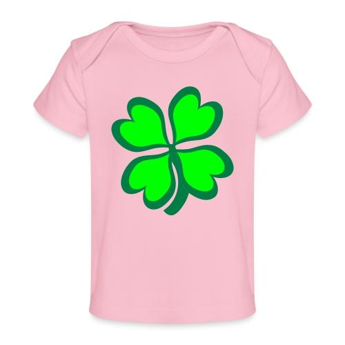 4 leaf clover - Baby Organic T-Shirt