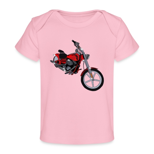 Motorcycle red - Baby Organic T-Shirt
