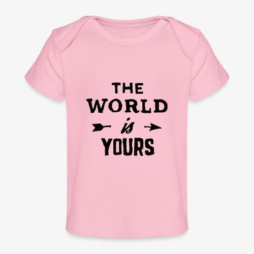 the world - Baby Organic T-Shirt