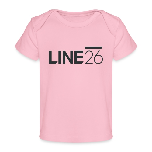 Line26 Logo (Dark Version) - Baby Organic T-Shirt