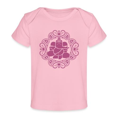 Ganesh Love Pink - Baby Organic T-Shirt
