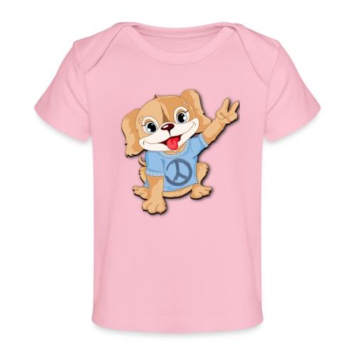 Peace Puppy - Baby Organic T-Shirt