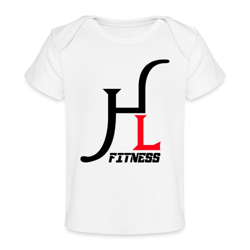 HIIT Life Logo Red - Baby Organic T-Shirt