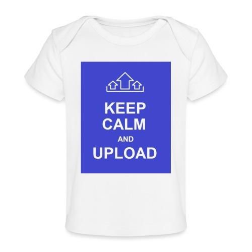 RockoWear Keep Calm - Baby Organic T-Shirt