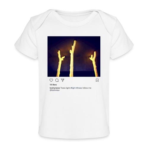 TREE LIGHT - Baby Organic T-Shirt