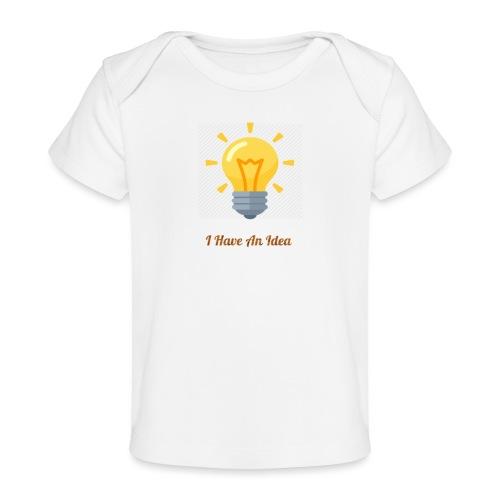 Idea Bulb - Baby Organic T-Shirt