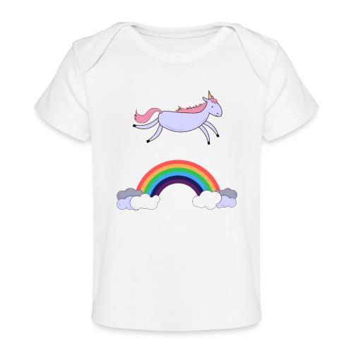 Flying Unicorn - Baby Organic T-Shirt