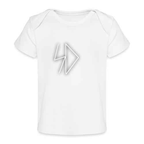 Sid logo white - Baby Organic T-Shirt