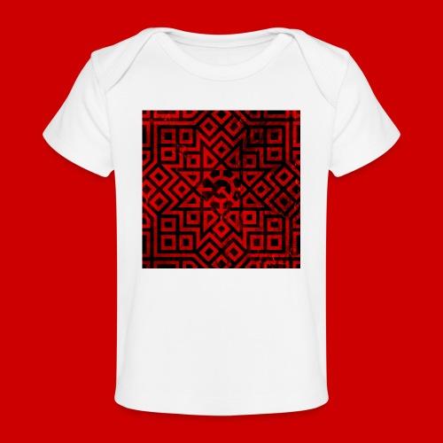 Detailed Chaos Communism Button - Baby Organic T-Shirt
