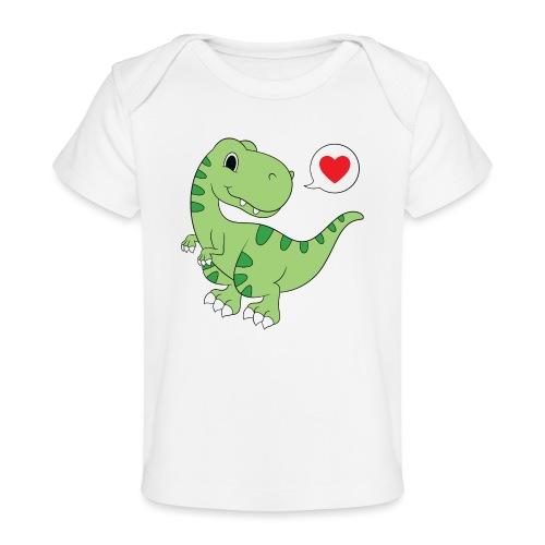 Dinosaur Love - Baby Organic T-Shirt