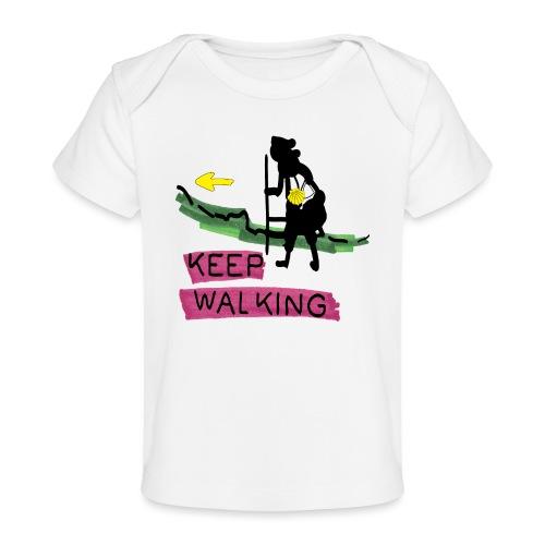 Keep walking buen camino sc t ss - Baby Organic T-Shirt