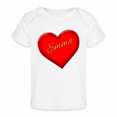 Emma Valentine - Baby Organic T-Shirt