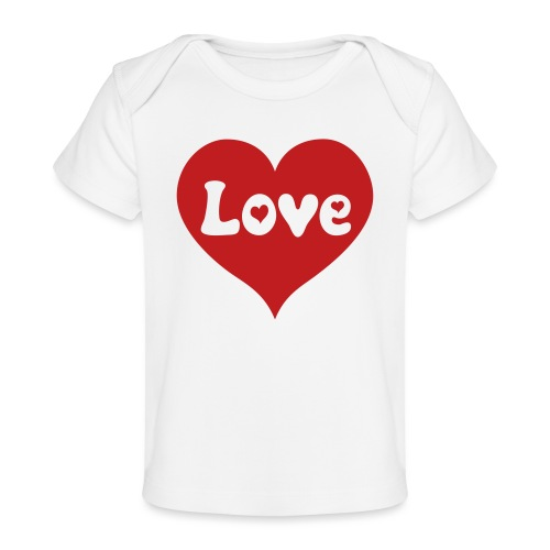 Love Heart - Baby Organic T-Shirt