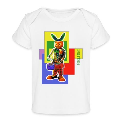 smARTkids - Slammin' Rabbit - Baby Organic T-Shirt