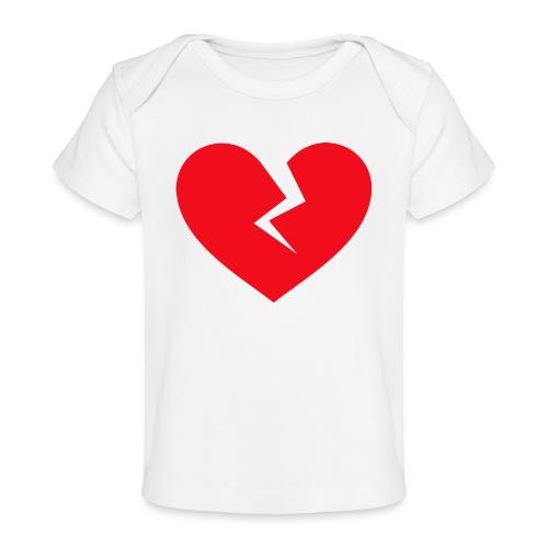 Broken Heart - Baby Organic T-Shirt