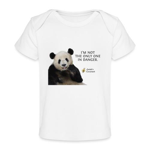 Endangered Pandas - Josiah's Covenant - Baby Organic T-Shirt