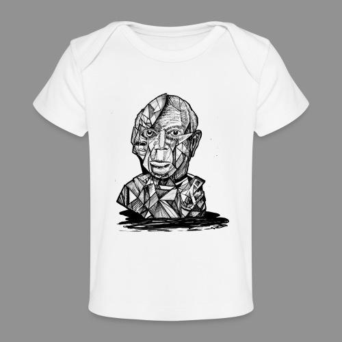 Wolfman Originals Black & White 21 - Baby Organic T-Shirt