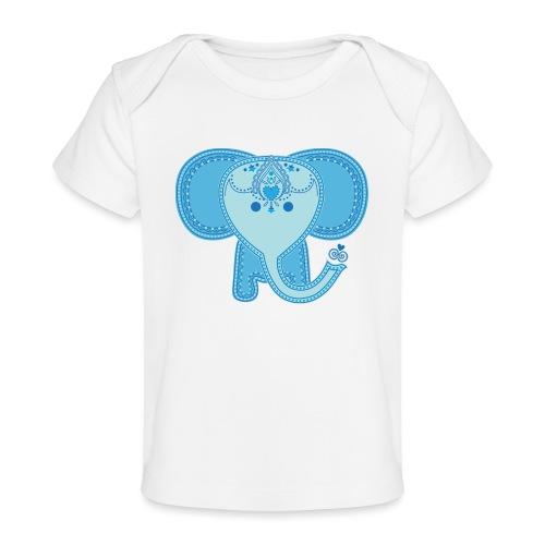 Baby Elephant - Baby Organic T-Shirt