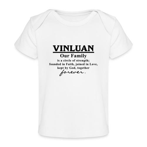 Vinluan Family 01 - Baby Organic T-Shirt