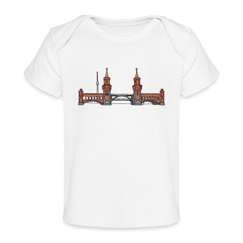 Oberbaum Bridge Berlin - Baby Organic T-Shirt