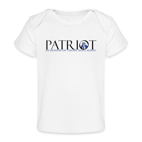PATRIOT_SAM_USA_LOGO - Baby Organic T-Shirt