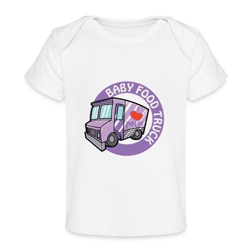 Purple baby food truck - Baby Organic T-Shirt