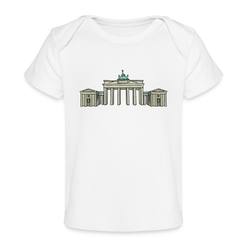 Brandenburg Gate Berlin - Baby Organic T-Shirt