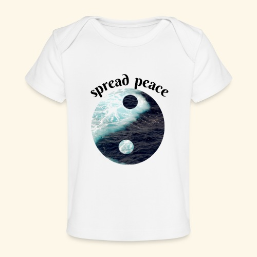 spread peace - Baby Organic T-Shirt