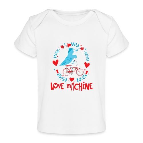 Cute Love Machine Bird - Baby Organic T-Shirt