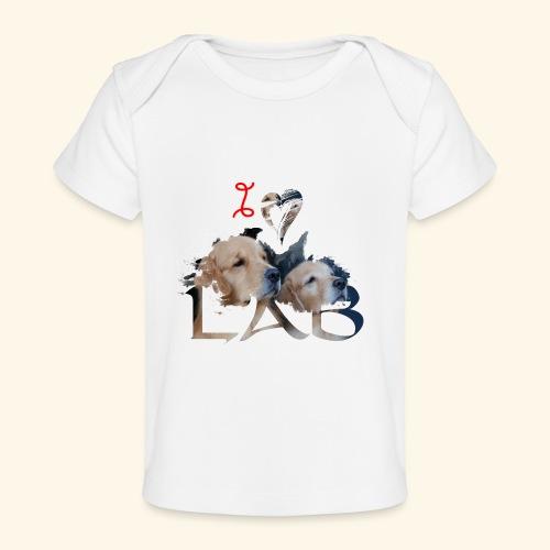 I love Lab - Baby Organic T-Shirt