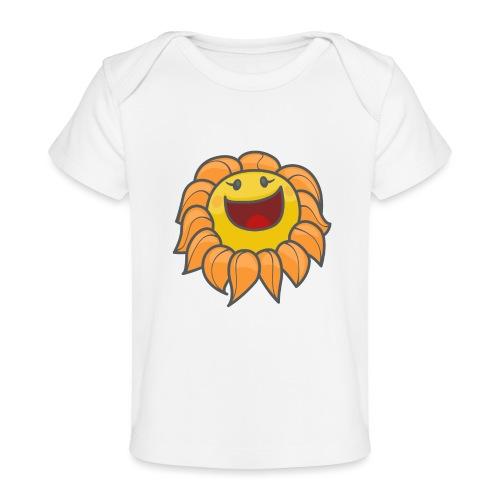 Happy sunflower - Baby Organic T-Shirt