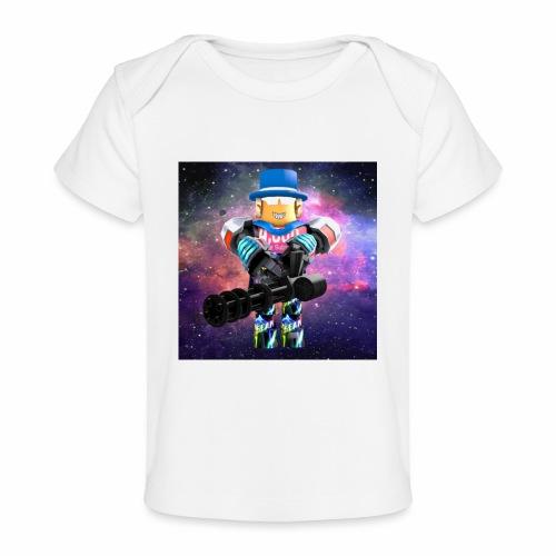sean roblox character with minigun - Baby Organic T-Shirt
