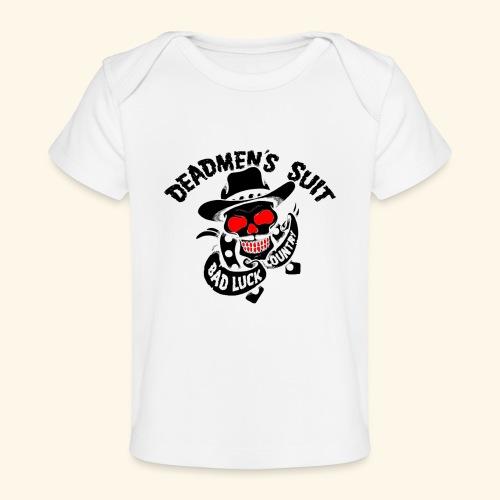 Deadmen's Suit Bad Luck#Skull - Baby Organic T-Shirt