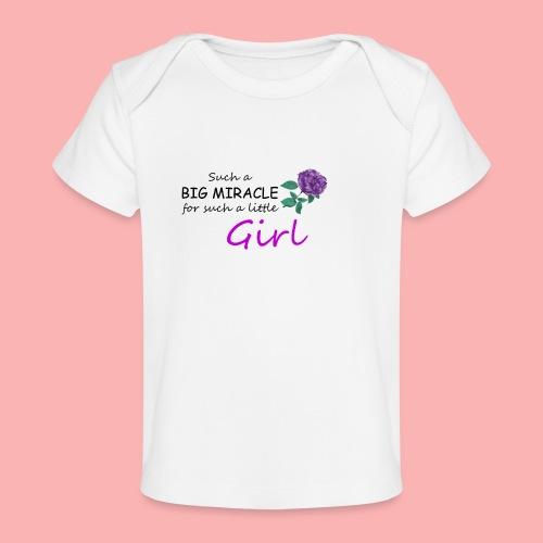 Big Miracle - Baby Organic T-Shirt
