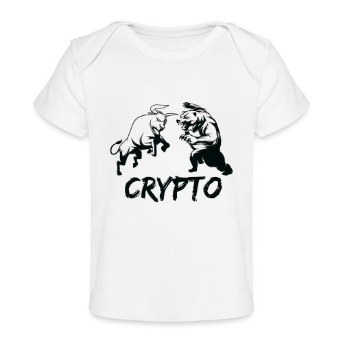 CryptoBattle Black - Baby Organic T-Shirt