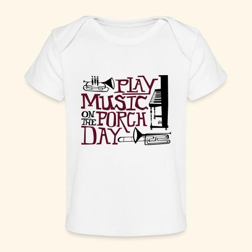 Horns - Baby Organic T-Shirt