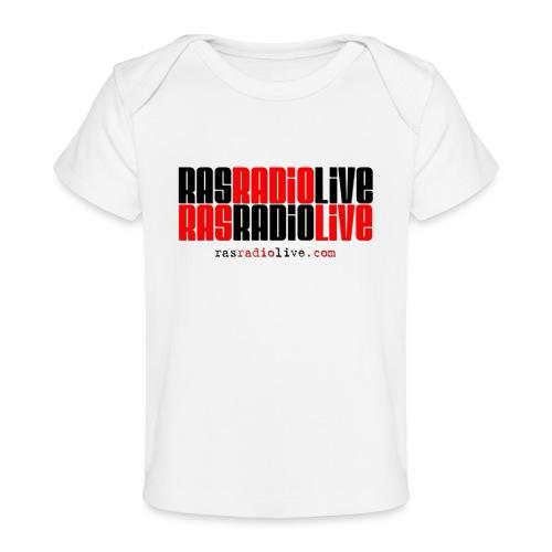 rasradiolive png - Baby Organic T-Shirt