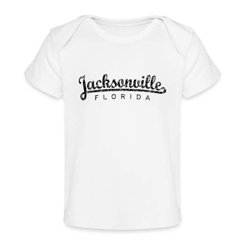 Jacksonville, Florida Classic (Ancient Black) - Baby Organic T-Shirt