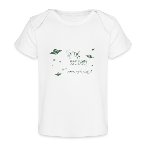 CE3_-_Flying_Saucers - Baby Organic T-Shirt