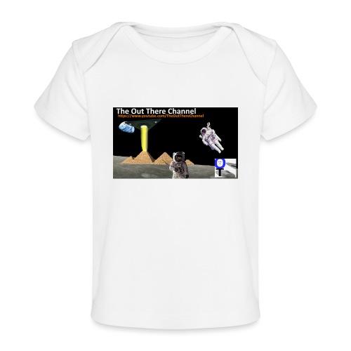 UFO-Pyramids-TheOutThereChannel-TubeLogo2017 - Baby Organic T-Shirt
