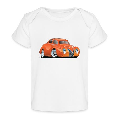 Custom Street Rod Vintage Car Cartoon - Baby Organic T-Shirt