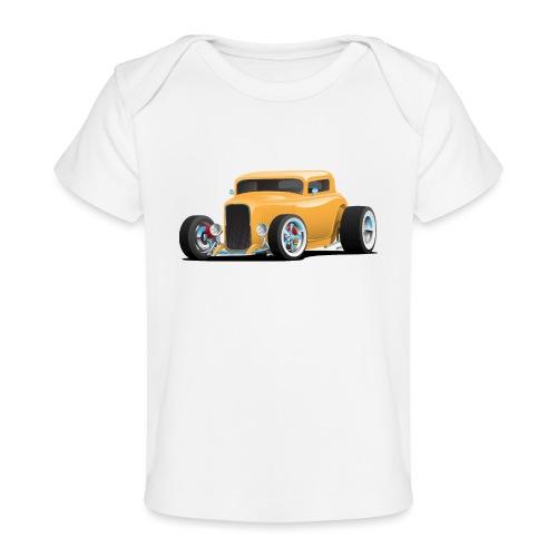 Classic American 32 Hotrod Car Illustration - Baby Organic T-Shirt