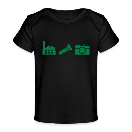 DCUE_Icons_Small - Baby Organic T-Shirt