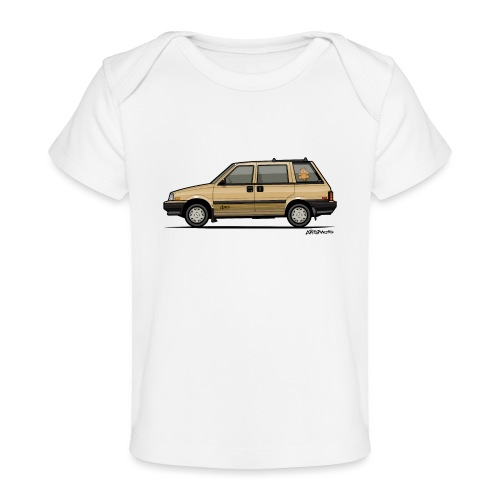 Nissan Stanza 4wd Multi Wagon Datsun Prairie Gold - Baby Organic T-Shirt