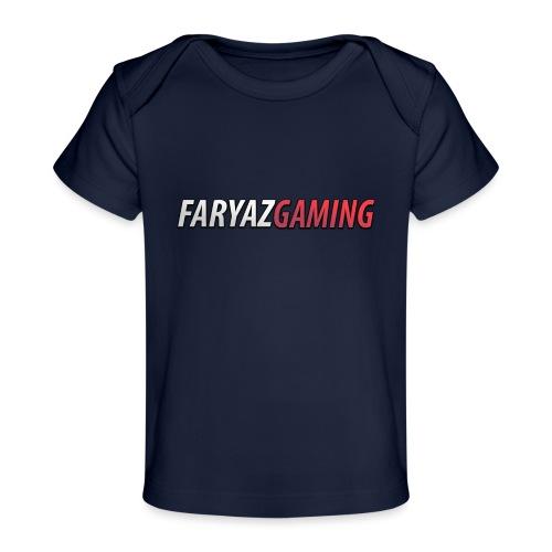 FaryazGaming Text - Baby Organic T-Shirt