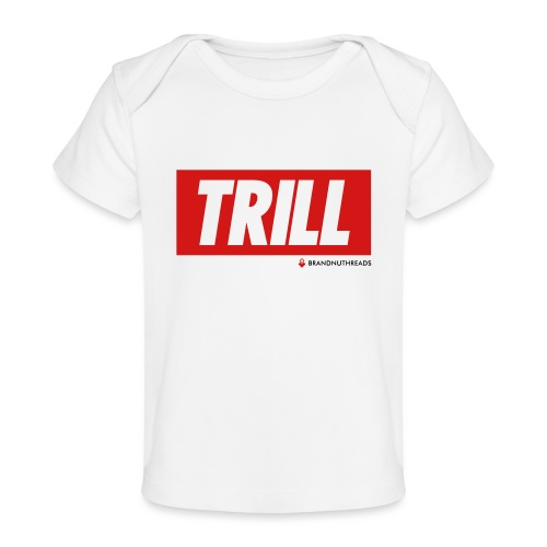 trill red iphone - Baby Organic T-Shirt