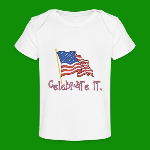 USA Celebrate It - Baby Organic T-Shirt